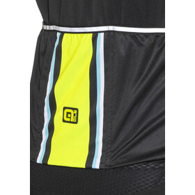 Alé Cycling PRR 2.0 Speed Fondo Kurzarm Trikot Herren black-fluo yellow-turquoise
